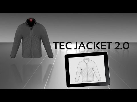 As Seen at CES 2013: Technology Enabled Clothing Concept Video