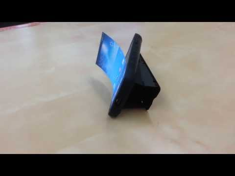 Flexible-Bendable Display Screen SmartPhone for Samsung Galaxy S, 가변형 디스플레이 스마트폰