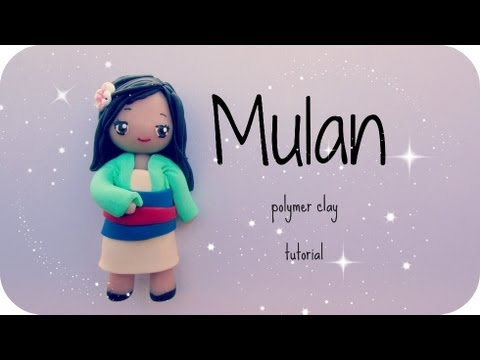 ❤ Mulan - Fimo tutorial ❤