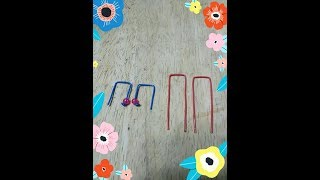 DIY Hook Style Wire Earrings