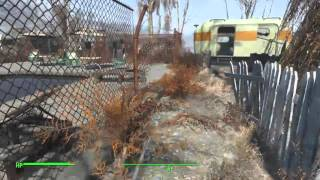 Fallout 4 (Distress Signal Broadcast Location) Secret Shelter Fiddlers Green Trailer Estates HD