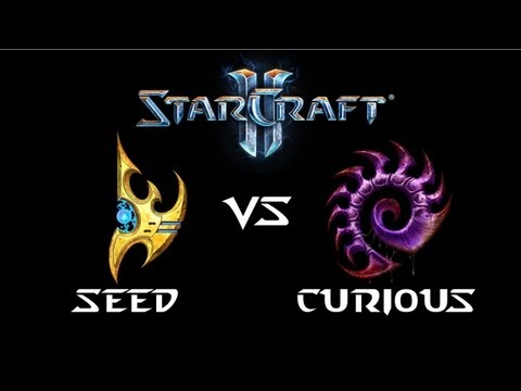 StarCraft 2 - Seed [P] vs Curious [Z] (Commentary)