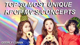 Download Lagu Top 30 Most Unique Kpop MV's/Concepts Gratis STAFABAND