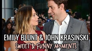 Emily Blunt & John Krasinski RELATIONSHIP GOALS | Sweet & Funny Moments