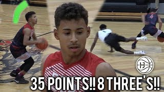 Julian Newman DROPS 35 POINTS! HITS 8 THREE'S In Season Opener!!! Downey vs ACD