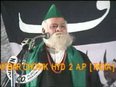 Anti Qadiyani Speech in Hyderabad Part 02