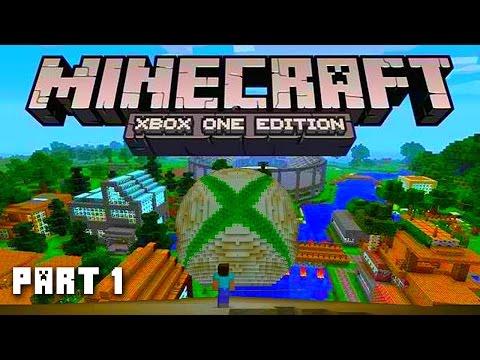 Minecraft XBOX ONE Adventure Part 1 Next Gen Minecraft PS4 Minecraft Xbox One