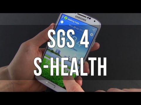 Samsung Galaxy S4: S Health app review
