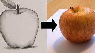 Drawing Becomes Real