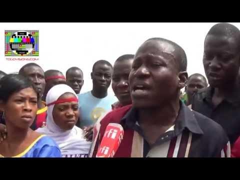 """""""Non à la faune"""", soutiennent les ressortissants de l'OTI à Lomé"""