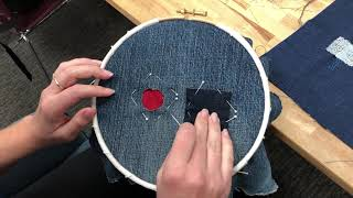 Make Do & Mend Stitch-at-Home Challenge: Patch Tutorial
