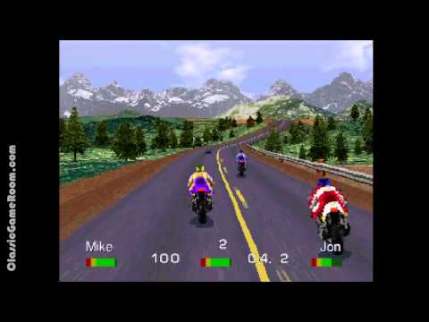 Classic Game Room - ROAD RASH review for PS1