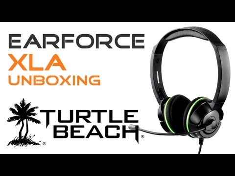 Turtle Beach Ear Force XLA - Unboxing & Review / DE