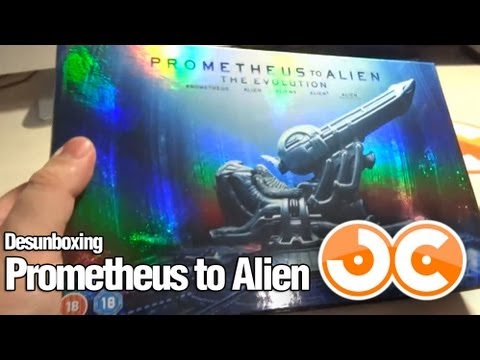 [Blu-ray] Prometheus to Alien (UK)