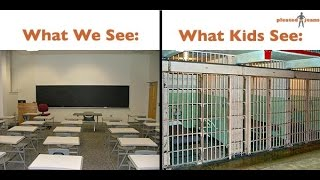 WHAT WE SEE. VS WHAT KIDS SEE.