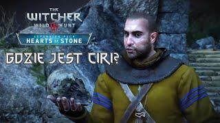 Zakończenie Wiedźmin 3: Serce z Kamienia. Geralt pyta Pana Lusterko o Ciri