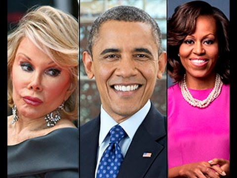 Obama Sacrificed Joan Rivers For Exposing Tranny Michelle Obama!! 2014 video