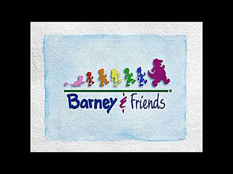 Barney And Friends Theme Song Slow Motion video