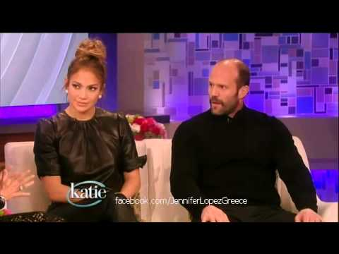 Jennifer Lopez & Jason Statham on 'Katie Couric Show' 25/1/13 (Part 2/3)