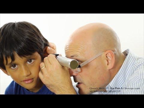 Ear Pain 5: Otoscope Examination