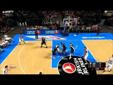 NBA 2K15 - DERBY DI EUROLEGA: REAL MADRID VS BARCELONA