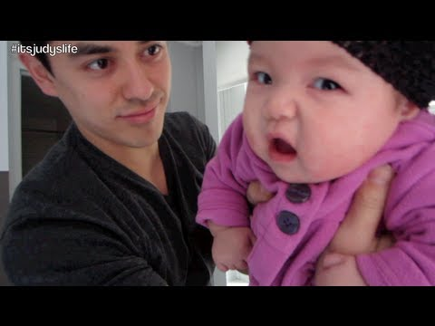 JULIANNA'S FIRST MILESTONE! - February 09, 2013 - itsjudyslife vlog