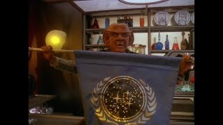 Quark's Bar Celebrates Bajor's Petition To Join The Federation is Approved
