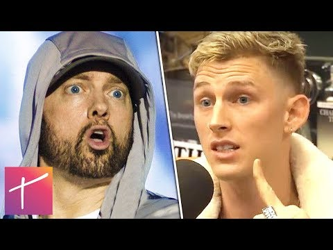 Eminem And Machine Gun Kelly's Beef Is Being Staged and There's Tons of Proof