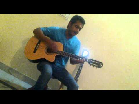 Ab to aadat si hai mujhko..............accoustic cover by Ritesh...