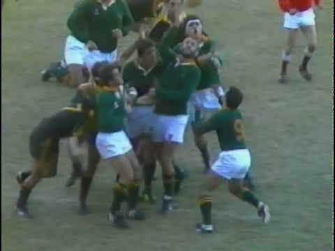 South Africa vs New Zealand Cavaliers 1986 Tour