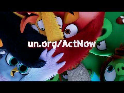 download song THE ANGRY BIRDS MOVIE 2 x UNITED NATIONS - ACT NOW PSA free
