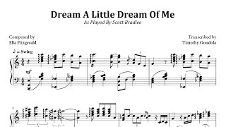 Scott Bradlee Dream A Little Dream Of You Transcription