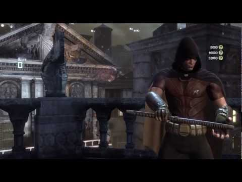 Arkham City - Robin Gameplay #1