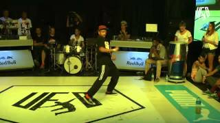 underground funky base vol 8 world final 1 vs1 popping semi-final (brooke vs ramelle)