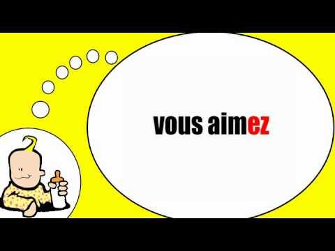 Я говорю по французски = Глагол =любить» в настоящем времени