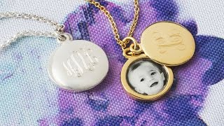 The photos in this locket won't fade.