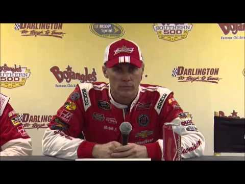 Kevin Harvick Winner Southern 500 Darlington Interview NASCAR Video