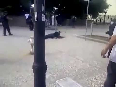 police shoot innocent man MUST WATCH!
