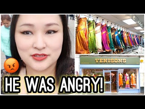 He Was Rudely Shouting at Me! Shopping in Alperton (Indian Shops) - Vlog #107