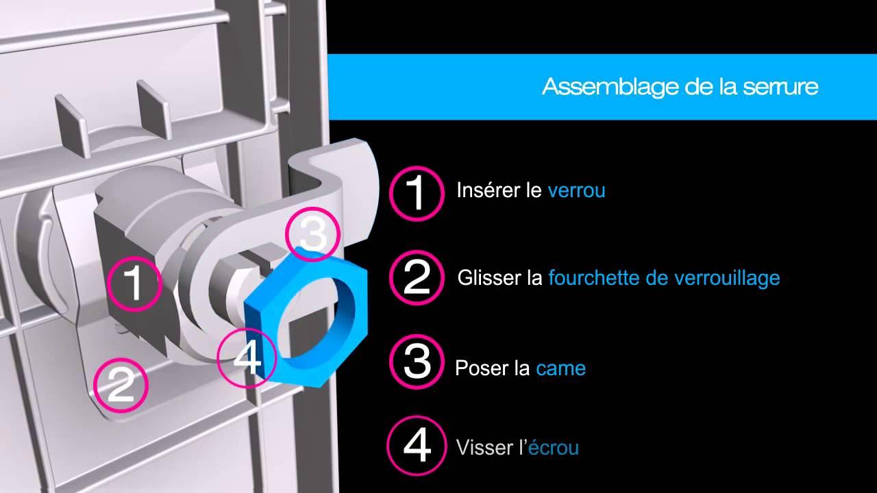 montage d 39 une nouvelle porte avant votre boite aux lettres sign e youtube. Black Bedroom Furniture Sets. Home Design Ideas