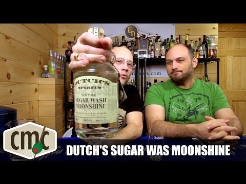 Dutch's Sugar Wash Moonshine Tasting. Review