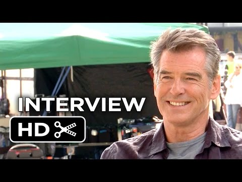 The November Man Interview - Pierce Brosnan (2014) - Action Movie HD