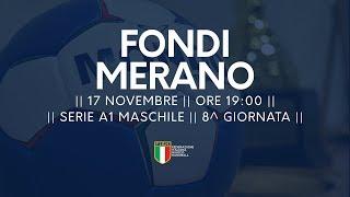 Serie A1M [8^]: Fondi - Merano 23-20