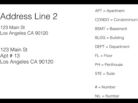 Address Line 2