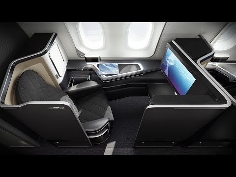 British Airways Dreamliner B787-9 First Class London to Abu Dhabi (+ Concorde Room)