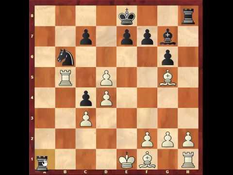 Chess: Susan Polgar 2430 - Jan Smejkal 1565, Grunfeld Defence http://sunday.b1u.org