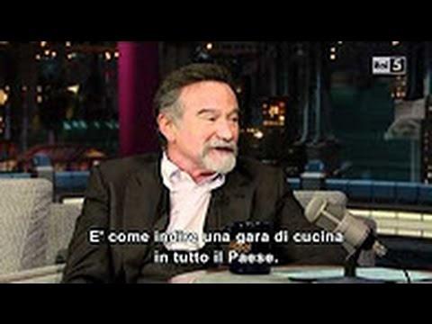 Robin Williams on David Letterman || Interview || (ita sub)