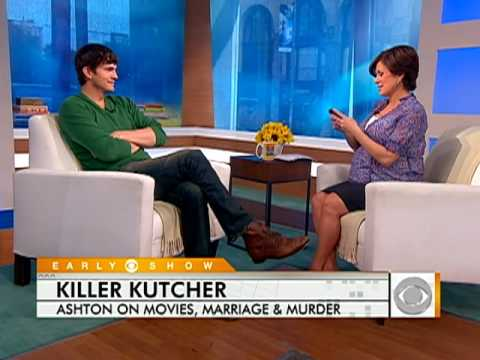 Ashton Kutcher on  Killers,  Twitter