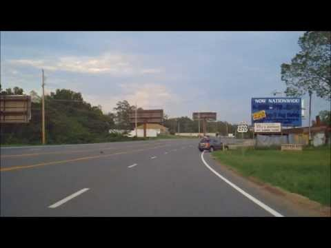 Driving from Hot Springs, AR to Malvern, AR on US 270. Filmed on August 21st 2011.