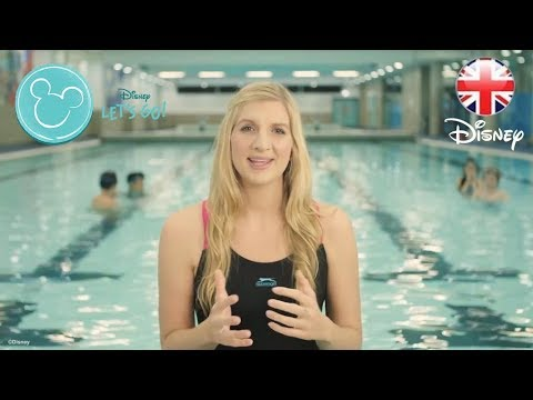 Finding Dory - #JustKeepMoving with Rebecca Adlington - Official Disney Pixar   HD